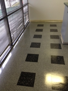 After Waxing VCT Floors